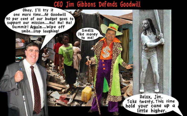 Jim Gibbons Goodwill CEO