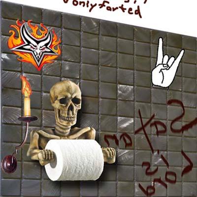 Goodwill exec toilet