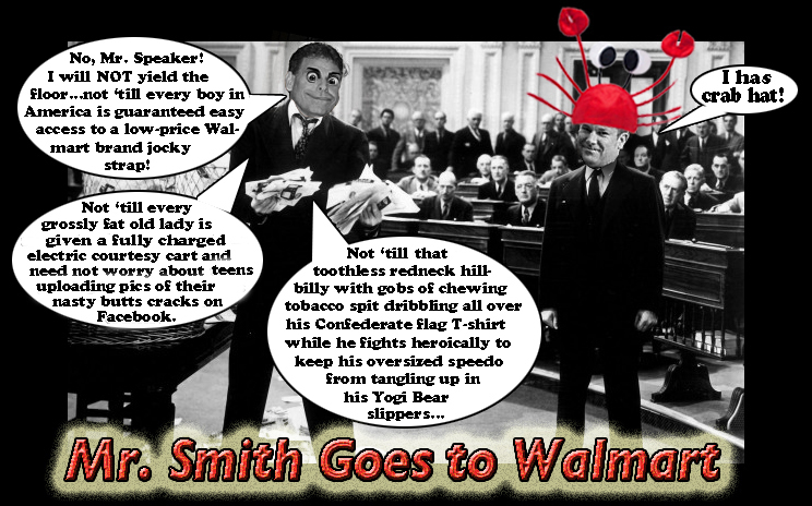 Mr. Smith Goes to Walmart